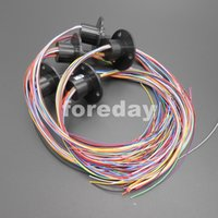 Wholesale 10PCS NEW Lead Wires A per circuits Small Capsule Slip Ring M VDC Rpm mm FD093X10