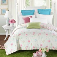Wholesale secret garden floral summer comforter cm cm cotton quilted thin bedding Blanket Plaids