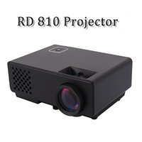 Wholesale RD Projector Lumens Video USB VGA SD Home Video Rd HDMI Projector Beamer White back