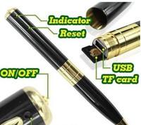 Wholesale Mini Spy Pen P Video Hidden Camera Camcorder Recorder Cam Executive Style Ballpoint Pen DV DVR