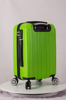 alibaba bag - alibaba low cost products luggage trolley bags ABS material hard case trolley luggage with universal wheel