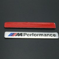 Wholesale Car Styling x1 cm Motosport M Performance Car Door Sticker Badge For BMW Decal m3 m5 X1 X3 X5 X6 E36 E39 E46