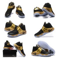 Wholesale With shoes Box Hot Sale Kyrie Irving II Custom Made Limited Edition Men KidsShoes size