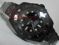 asia sea - Luxury High Quality mm Ceramic Sapphire Sea Dweller Watch Black Asia Automatic Movement Mens Watches