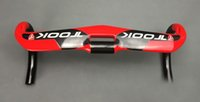 Wholesale OEM TOOK full carbon fiber UD racing cycling red glossy road bike bicycle handlebar matte mm mm