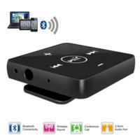 al por mayor cable de audio al aire libre-Mini portátil Clip-on al aire libre de entretenimiento inalámbrico Bluetooth MP3 Player manos libres 3.5 mm de audio micrófono con conexión de cable auricular auricular