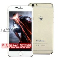 metal - Goophone I6S Quad Core i6 phone Smartphone Cell Phone G RAM G ROM Inch QHD Screen Single Nano Sim WCDMA GPS MTK6582 metal work well