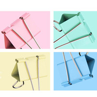 Wholesale 15 mm Dovetail Clamp Binder Tail Clip File Folders Office School Supplies Papelaria