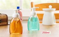 Wholesale Cosmetics Plastic Sparkling Bottle Mousse Foaming Packing Bubble Bottle For Wash Hand Exquisite High cm Mini Cheap Sparkling Bottle