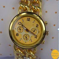 auto link japan - 2016 Fashion Lady stainless steel golden link watch Bracelet brand wrist women watch japan move quartz wrist watch colors