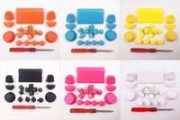 Wholesale Full Key Buttons Sets Replacement for PS4 Game Controller L1 R1 L2 R2 Thumbstic Cap Touchpad Buttons Kit for Play Station Controller