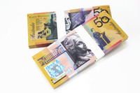 australian crafts - Hot Sales Australian Trainings Banknotes AUD50 Bank Staff Learning Money New Christmas Gifts Home Decoration Arts Crafts Gift