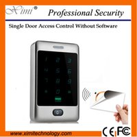 Wholesale Good quality new arrival mhz mi fare card reader IP65 waterproof M13A single door access control system