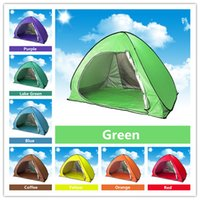 Wholesale Quick Automatic Opening Tents Outdoors UV Protection SPF Tent for Beach Travel Lawn People Camping Equipment