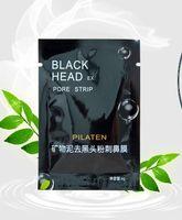 Wholesale Facial Minerals Conk Nose Blackhead Remover Mask Pore Cleanser Nose Black Mud Masks Deep Clean Black Moor Masks Acne Remover