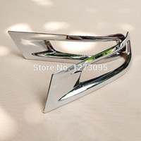 auto lamps toyota corolla - For Toyota Corolla ABS Chrome Rear Fog Light Lamp Cover Trim Tail Fog Light Cover Auto Styling Accessories