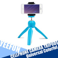 Wholesale n for Cellphone Camera Colorful Universal Waterproof Foldable Mini Tripod Stand For Camera Cell Phone Multifunctional Tripo