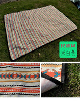 Wholesale Mat camping tents waterproof outdoor camping picnic mat suede dampproof mat aluminum membrane mat in the park