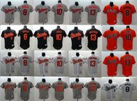 baltimore baseball player - Baltimore Orioles Jersey Adam Jones Manny Machado Cal Ripken Orange Flexbase Player Jerseys