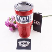 beer bottle tray - Yeti Rambler Bottle Outdoor Coolers Stainless Steel Insulation Cup Cars Beer Mug Large Capacity Mug Tumblerful