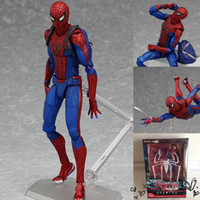 amazing dragons - 2016 Direct Selling Juguetes Naruto Dragon Ball Spider Man The Amazing Spiderman Figma Pvc Action Figure Toy Collectible Model Doll cm