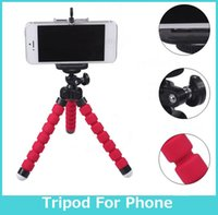 video tripod - Car Phone Holder Flexible Octopus mini Tripod Bracket Selfie Stand Mount Monopod Styling Accessories For Mobile Phone Camera for Gopro SJ400