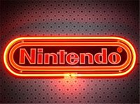 Wholesale NEON SIGN For NINTENDO BLACK Custom Store Display Beer Bar Pub Club Lights Signs Lighting Shop Decorate Real Glass Tube Bulbs