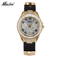 antique gold watch - New Arrival Fashion Casual Replicas Watches Leather Belt Sqacex Bling Rhinestone Watch PAM Watches Butterfly Buckle