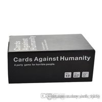 Wholesale Lastdeal Cards Game ALL FOUR NEW Basic Editions CAH of Cards for Trading Card Games AS Christmas Gift