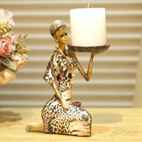asia cup - Creative home furnishing articles ornaments Resin handicraft Southeast Asia figure sitting room decoration