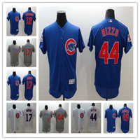Wholesale 2016 New Flex Base Chicago Cubs Jersey Jake Arrieta Anthony Rizzo Kris Bryant Kyle Schwarber Baseball Flexbase jerseys