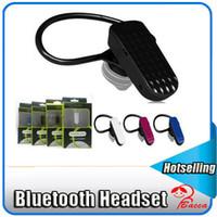 apple handfree - Black Universal S95 Bluetooth Headset Earphone Wireless Mini Headphone Handfree fone de ouvido For iPhone s s plus xiaomi with retail