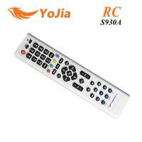 1pc S930A de control remoto para un receptor de satélite AZ América S930 S930A fin mando a distancia del poste del envío $ 18Nadie pista