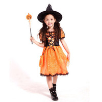 Wholesale Halloween cosplay girls modeling clothes Children s clothing Christmas clothing Performance dresses