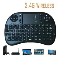 Wholesale 2 G Mini Wireless Fly Keyboard Touchpad For PC Laptop Android TV Box PS3 XBOX