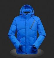 Wholesale 2016 new arrival mens parka down jackets coats men down jackets winter down coats parkas colors size M XL
