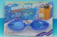 Wholesale DHL Shipping Antifog Waterproof Children s Kids Boys Girls Swimming Goggles Earplugs Nose Clips Swim Eyewear With Retail Packing