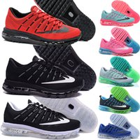silver flats - 2016 Max Size US12 Sneakers for cheap for Men and Women Air Mesh Black White Grey Green Navy Red Mixed Colors Casual Running Shoes