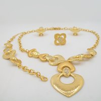 anniversary gift items - European and American fashion retroBridal Jewelry Sets Necklace Jewelry Sets Gold Plated Item For