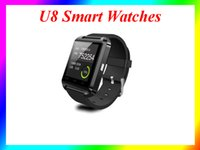 altimeters for sale - Hot sale U8 Smart Watches Bluetooth Wrist Watches Altimeter Smartwatch for Apple iPhone Samsung S4 S5 Note Android HTC Smartphones DHL