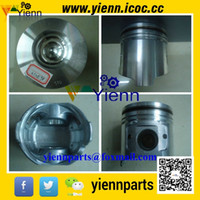 Wholesale Yanmar TNE98 D98E TNE98T piston YM129907 with ring for Komatsu SK1020 loader Vio70CR excavator S4D98E NFD engine overhual repair