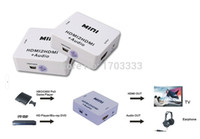 audio mini projector - Newest Mini HDMI2HDMI Audio P Decoder Converter HD HDMI to HDMI Audio Adapter For PC Laptop Computer to HDTV Projector