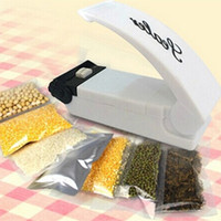 battery vacuums - Home food vacuum sealer hand pressure heat sealing machine Poly Tubing Plastic Bag Kit plastic bag sealing device