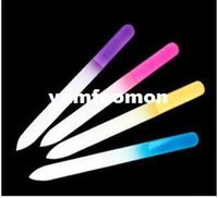 Wholesale Crystal Glass File Buffer Nail Art Buffer Files For Manicure UV Polish Tool