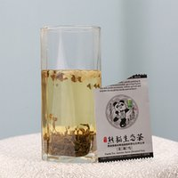 Wholesale 48g Panda Tea Mo Li Xue Jasmine Tea Chinese Organic Gift Tea Flower Tea direct selling special offer