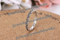 Wholesale Best Seller Charm Ring Sterling Silver White Copper Fashion Women Jewelry For Pandora European Style New Arrival