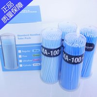 Wholesale bottles Dental Disposable Micro APPLICATOR Brush One off Micro Brushes mm blue type for regular
