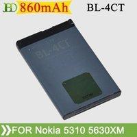 al por mayor bl 4ct-Alta calidad 860mAh BL-4CT BL4CT batería del teléfono celular para Nokia 5310 6100 6101 6102 6103 Batterij Bateria