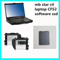 benz scn - SD Connect C4 MB diagnostic tool with MB Star C4 SSD software with offline SCN Coding Features plus CF52 Military laptop