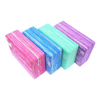 Wholesale Non Slip EVA Yoga Pilates Blocks Bricks Foaming Foam Exercise Health Gym Practice Training Tool for Home Fitness